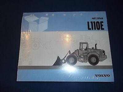 Volvo L110e Wheel Loader Parts Catalog Book Manual