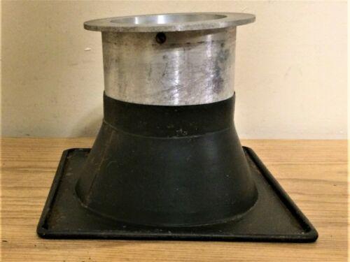 """Vintage Metal Gel Lens Adjustable Frame Stage Lighting 6 7/8"""" sq. 5 1/4"""" Hole #2"""