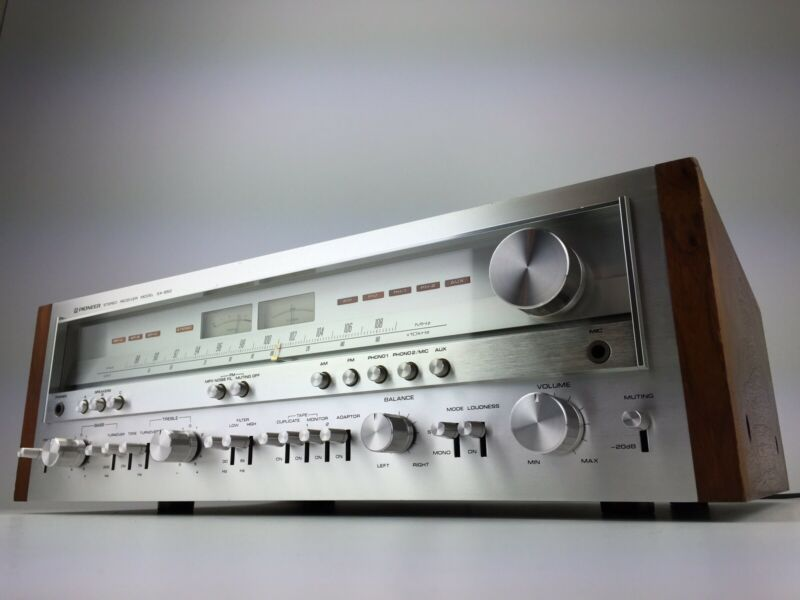 Complete Professional Restoration Service For Pioneer SX-850 SX-950 Receiver