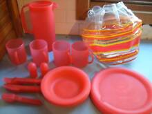 Red Picnic Set Merewether Newcastle Area Preview