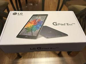 "Brand New in Box LG G Pad 3 III 8"" Tablet"