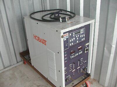 Hobart Htc 880 Talon 500 Robotic Tig Welder Power Supply For Robot Arm