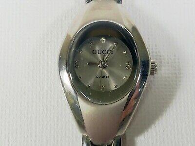 Gucci Bracelet Watch 5-24-72 Vintage Ladies Women Quartz