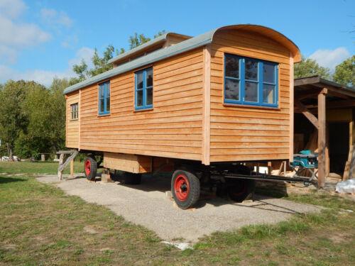 Ferienwohnung, Bauwagen, Zirkuswagen, Atelier, Büro, Hausboot, Wohnwagen