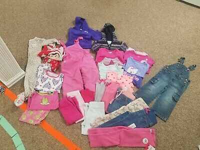 lot of 29 Girls  2T fall winter Clothes Outfits snow pants pjs carters &more