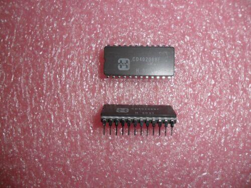 CD40208BF IC 4 X 4 MULTIPORT REGISTER CERAMIC 24 PIN DIP HARRIS (LOT OF 2)