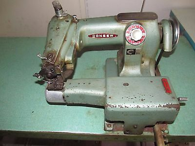 Consew 222 Blind Stitch Sewing Machine Head
