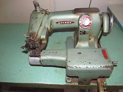 Consew 222 Blind Stitch Sewing Machine Head