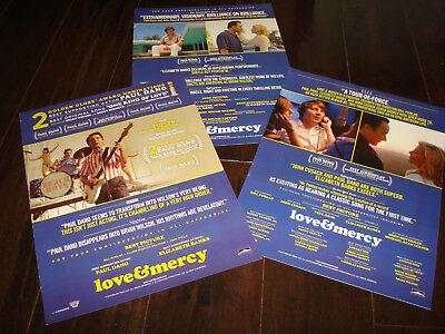 LOVE & MERCY 3 Oscars ads Paul Dano as Brian Wilson of Beach Boys, John Cusack