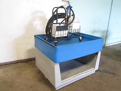 Hd Commercial Poly Equipment Washing Table Ecolab Chemical Dispenser Wgun