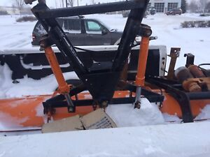 STEEL POWER ANGLE 7.5 FT ARCTIC PLOW  04 GM 2500