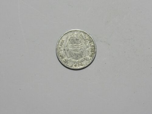 Old Botswana Coin - 1976 1 Thebe - Circulated
