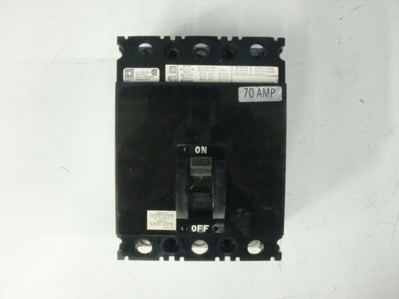 SQUARE D MOLDED CASE CIRCUIT BREAKER FAL-36070