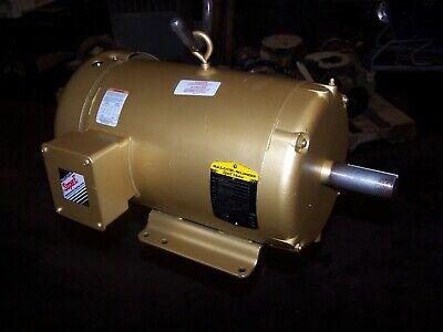 New Baldor Super E 10 Hp Ac Electric Motor 215t 1770 Rpm 208-230460 Vac Em3714t