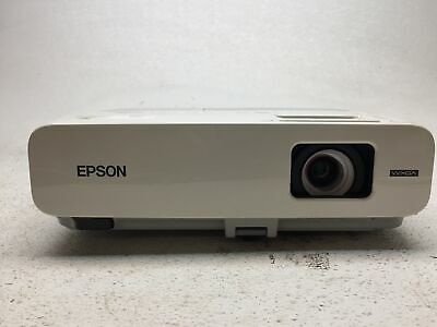 Epson PowerLite 826W H296A LCD Projector, Tested & Working, 383 Lamp Hours, Fair