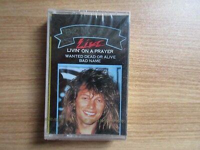 Bon Jovi - Live Rare Korea Factory Sealed Cassette Tape New Sealed