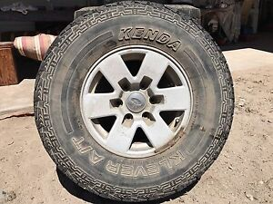 Ford courier rims and tyres Port Augusta Port Augusta City Preview