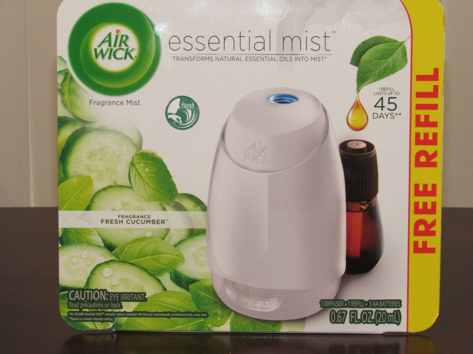fresh cucumber fragrance essential mist with free