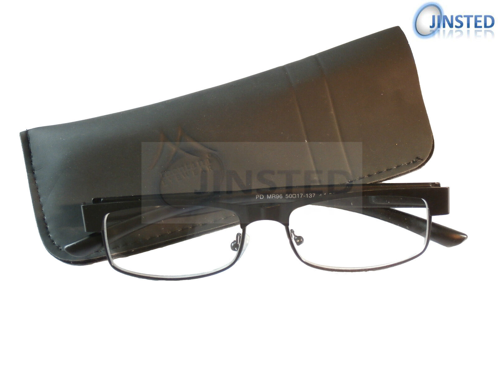 Black High Quality Swiss Reading Glasses Spectacles Specs Many Strength RG024