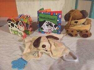 Lot de jouets chien pour bébés