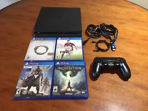 PS4 SLIM BUNDLE FOR SALE WITH GAMES $320!