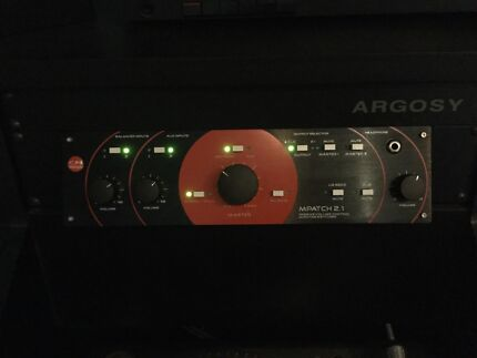 M-Patch 2.1 passive monitor controller with Subwoofer connection
