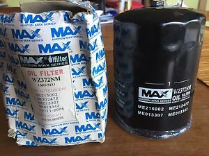 Z372 Oil Filter with DRAIN BOLT/PLUG. Nippon MAX ME013307 ME21500 Taroona Kingborough Area Preview