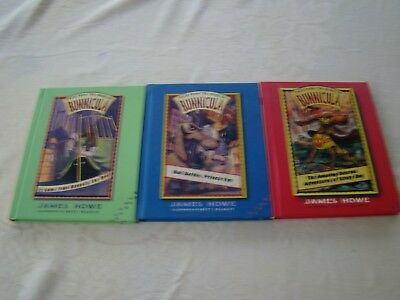 LOT OF 3 TALES HOUSE BUNNICULA PRIVATE EYE UNDER BED STINKY DOG HC JAMES HOWE