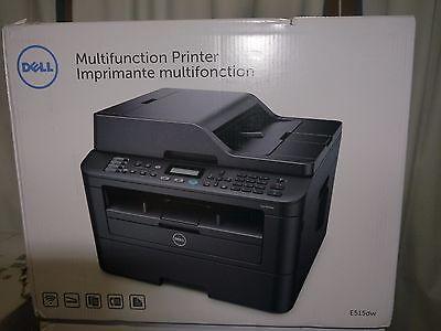 Brand New Dell E515dw Wireless Bland/White Mono Laser All-in-One Printer