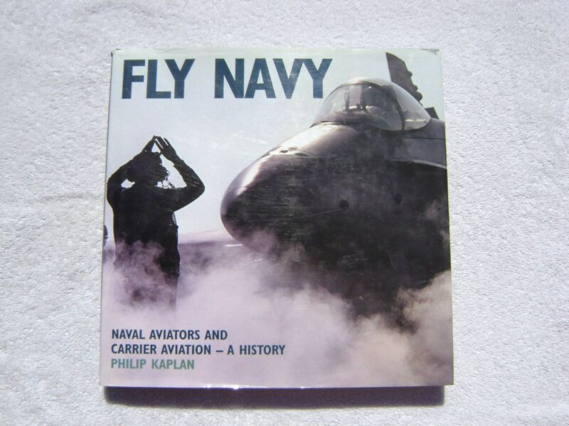 FLY NAVY BOOK MARITIME NAUTICAL MARINE (#138)