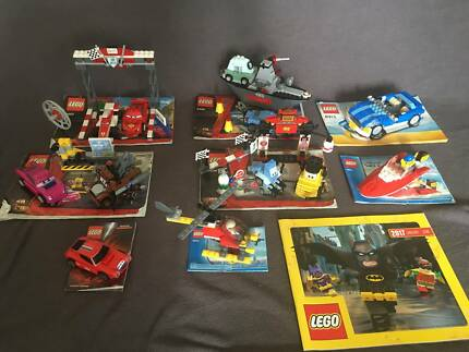Bulk kids lego CARS toys collection
