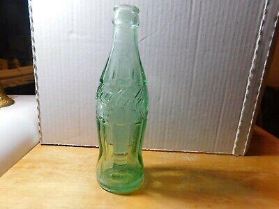 Vintage 6.5 fl. oz. Embossed Coca-Cola Empty Bottle Houston, Texas 1963