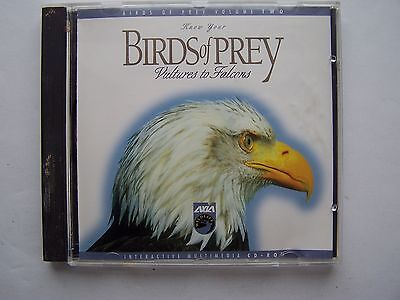 Know Your Birds of Prey, Volume 2: Vultures to Falcons Multimedia PC CDROM 1995