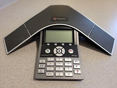 Polycom Soundstation Ip 7000 Handsfree Voip Conference Phone Poe 2201-40000-001