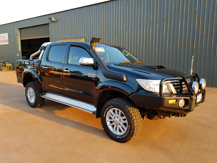 2012 Toyota Hilux SR5 Auto (full leather)