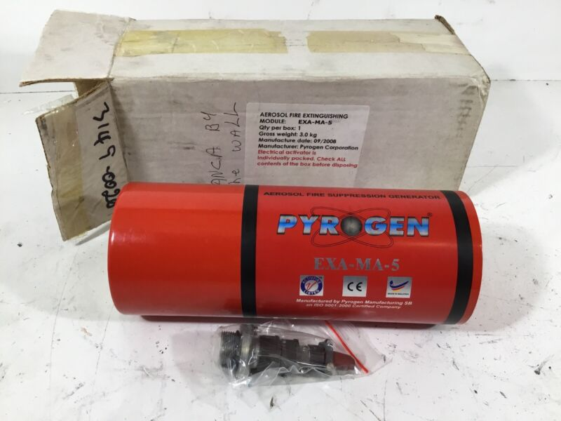 NEW Pyrogen EXA-MA-5 Aerosol Fire Suppression Generator / Extinguisher
