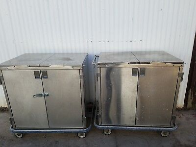 2-blickmann Ccc2e Multi-purpose Stainless Steel Case Carts W Extionsion Shelves