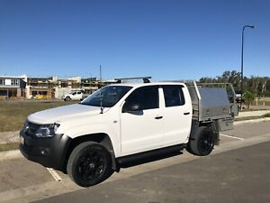 2013 VW Amarok Dual Cab Ute, low kms, with Tray and Tool Boxes