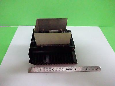 Microscope Part Polyvar Reichert Leica Lamp Heat Sink Optics As Is Binw2-09-a