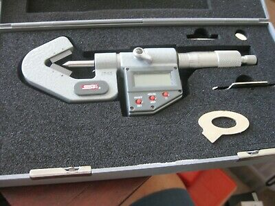 Spi Electronic V-anvil Micrometer 17-817-8 Range .40-.60 Inch