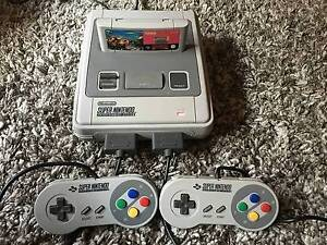SNES Supernintendo, 3 Controllers(1 ProPad) + 7 Games Mile End West Torrens Area Preview
