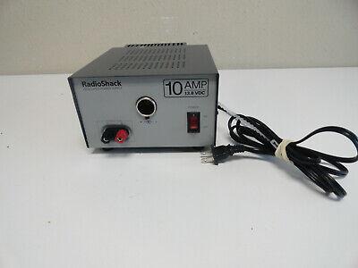 Radio Shack 10a 13.8v Regulated Linear Power Supply Cat. No. 22-506