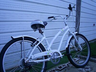 """LADY'S GIRLS HALFORDS 6 SPEED SHIMANO CRUISER BIKE 15"""" FR EXCELLENT USED COND"""