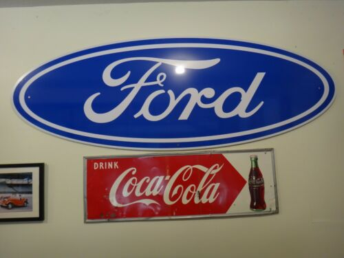 FORD 8 FEET OVAL SIGN 8