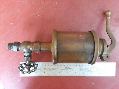 Lunkenheimer Alpha Hand Motor Oil Pump Oiler Droplet 6 Steam Engine Large