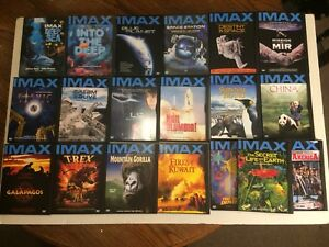 IMAX DVD's (19 Total, excellent condition)