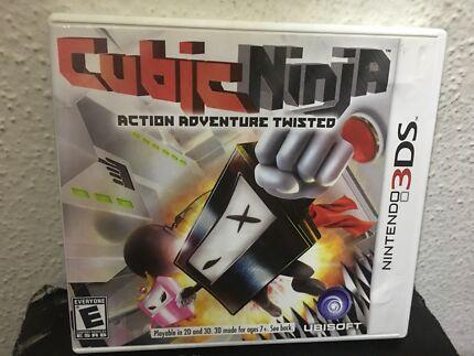 3DS Cubic Ninja Game