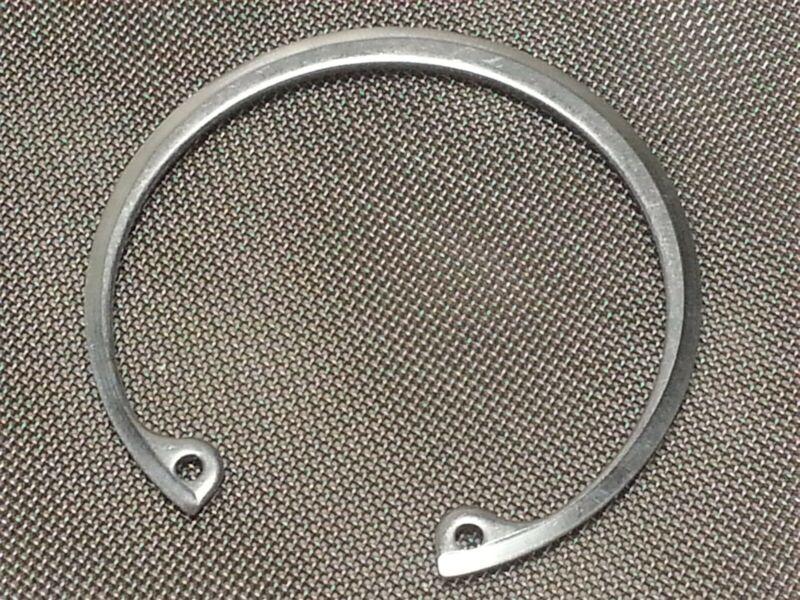 "Stainless 2-1/4"" 2.21"" 56mm OD Internal Hook Circlip Snap Retaining Ring"