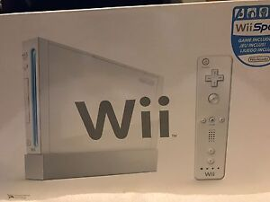Wii one controller all cables and stand plus hand book