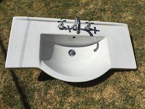 Ceramic Bathroom Vanity sink Port Adelaide Port Adelaide Area Preview